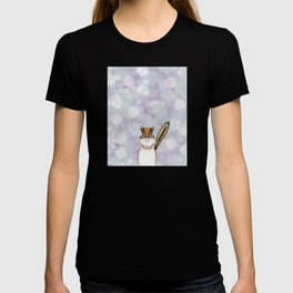 chipmunk woodland animal portrait T-shirt