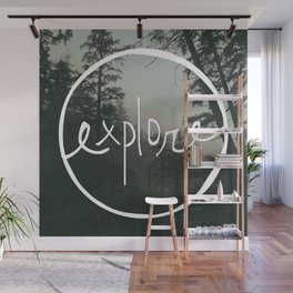 Explore Oregon Forest Wall Mural