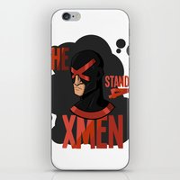 xmen iPhone & iPod Skins featuring The X stands 4 XMEN by JakbTIME