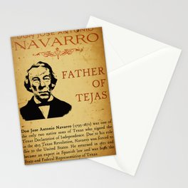 Don Jose Antonio Navarro Poster Stationery Cards