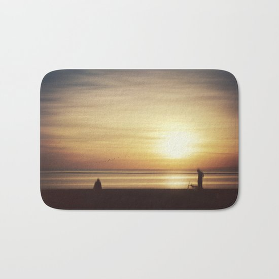 suMMer mOOd - beach sunset Bath Mat