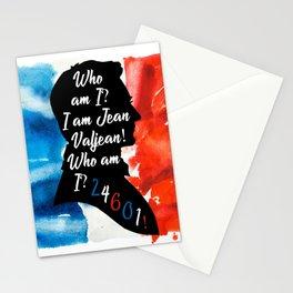 Jean Valjean 24601 Stationery Cards