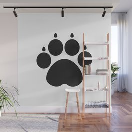 Paw Wall Mural