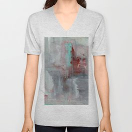 Behind The Waterfall Unisex V-Neck