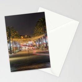 Hermosa Night Life Stationery Cards