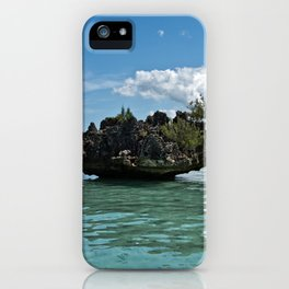 Crystal Rock, Mauritius iPhone Case