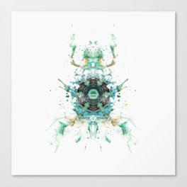 Inkdala LXIV Canvas Print