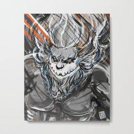 Jaw titan Metal Print