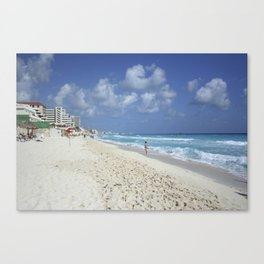 Carribean sea 7 Canvas Print