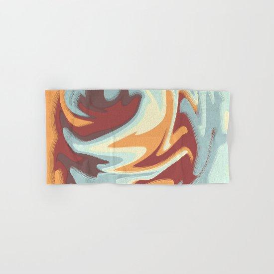 Abstract rose Hand & Bath Towel