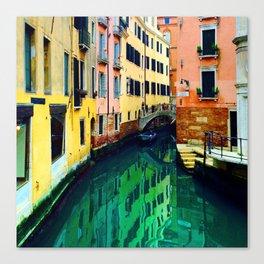 Melting Venice Canvas Print