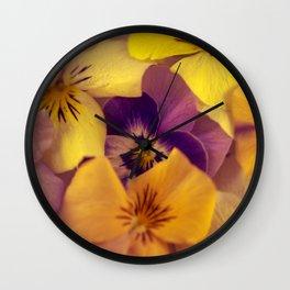 Viola bed. Wall Clock