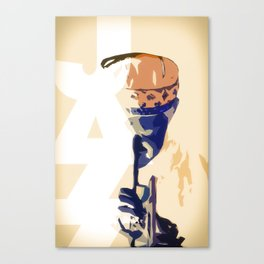 Jazz Poster Canvas Print