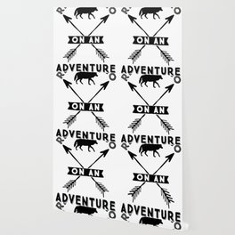 READY TO GO ON AN ADVENTURE TO ANYWHERE Wallpaper