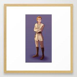 Young Kenobi Framed Art Print