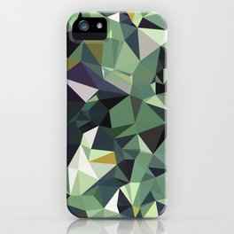 Martinique Low Poly iPhone Case