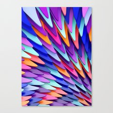Colorful Skin Canvas Print