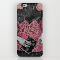 loll3 iPhone & iPod Skins featuring Witchcraft by lOll3