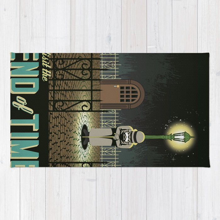 Chrono Trigger End of Time Travel Poster Rug