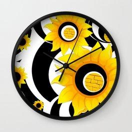 OLE YELLOE Wall Clock