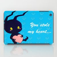 kingdom hearts iPad Cases featuring Kingdom Hearts - Heartless by UncannyViolet