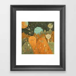Elsewhere Framed Art Print