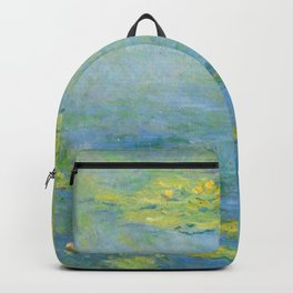 "Claude Monet ""Water Lilies"" (10) Backpack"