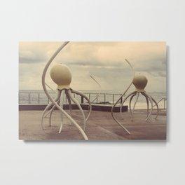 Octopussy Metal Print