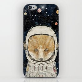 little space fox iPhone Skin