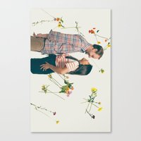 wedding Canvas Prints featuring Wedding by Nash Cubero