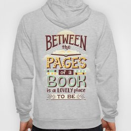 Between pages Hoody
