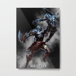 god of war art Metal Print