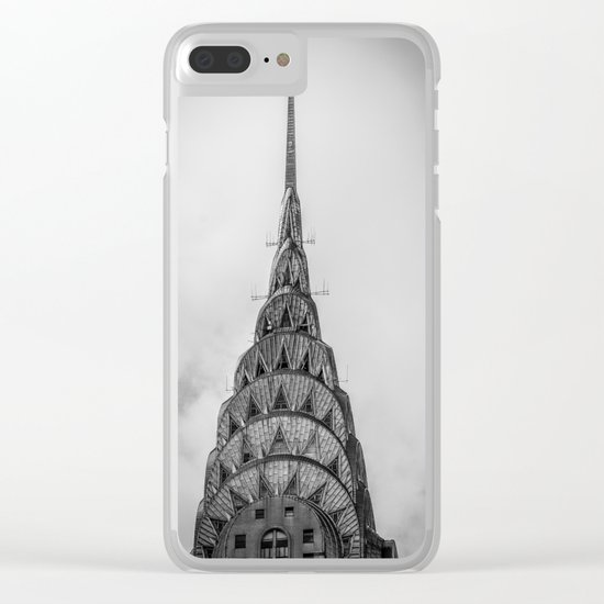 Chrysler Building New York USA Clear iPhone Case