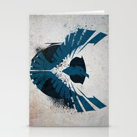 infamous Stationery Cards featuring inFamous Second Son Good Karma 1 by Kyrsten Carlson