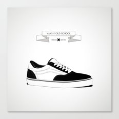 URBAN SHOES // 01 Canvas Print