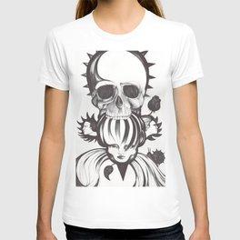 El mordisco de la calavera T-shirt