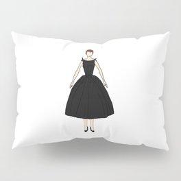Audrey Hepburn Vintage Retro Fashion 1 Pillow Sham