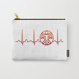 Physiologist Heartbeat Carry-All Pouch