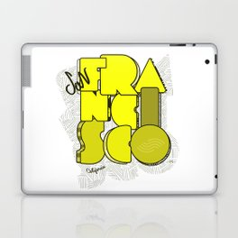 California San Francisco Laptop & iPad Skin