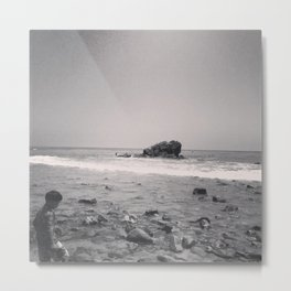 Boy in Leo Carrillo Metal Print