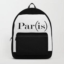 Paris is Life Backpack