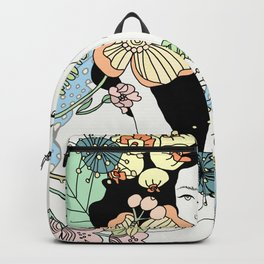 Flower Maiden Blossom Backpack