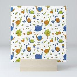 Snails, snails... Mini Art Print