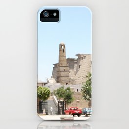 Temple of Luxor, no. 14 iPhone Case