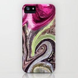 Art Pink iPhone Case