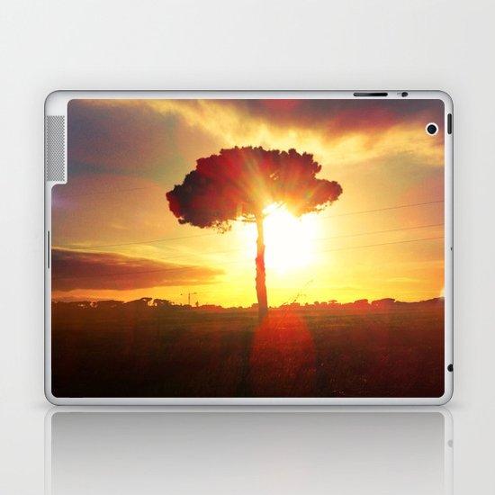 lonely tree. Laptop & iPad Skin