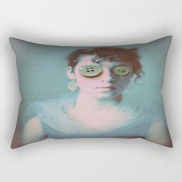 Buttoned Up Rectangular Pillow