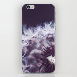 Violet Dandelion iPhone Skin