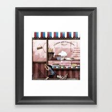 Cake anyone? Framed Art Print