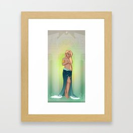 Greek Goddesses - Aphrodite Framed Art Print